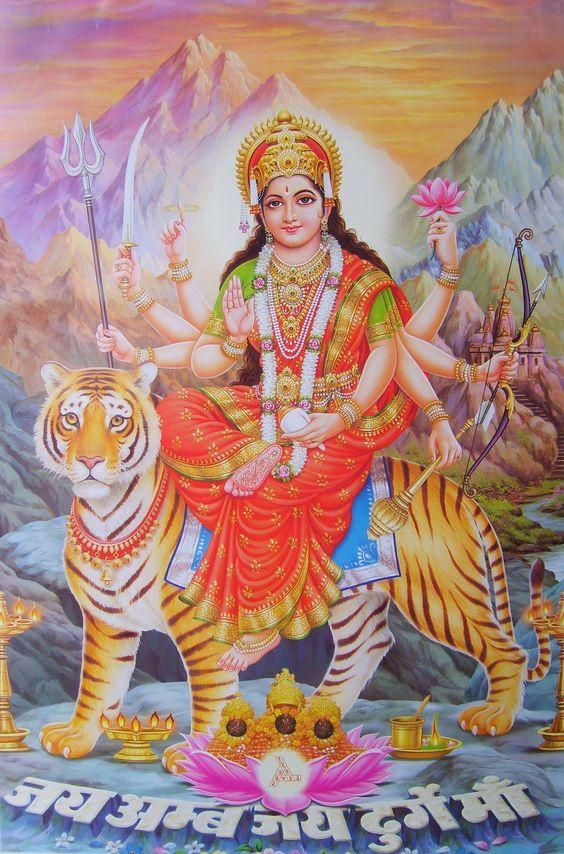 Jai Ambe Durga Maa Images Photo Jai Ambe Maa Hd 564x854 Download Hd Wallpaper Wallpapertip