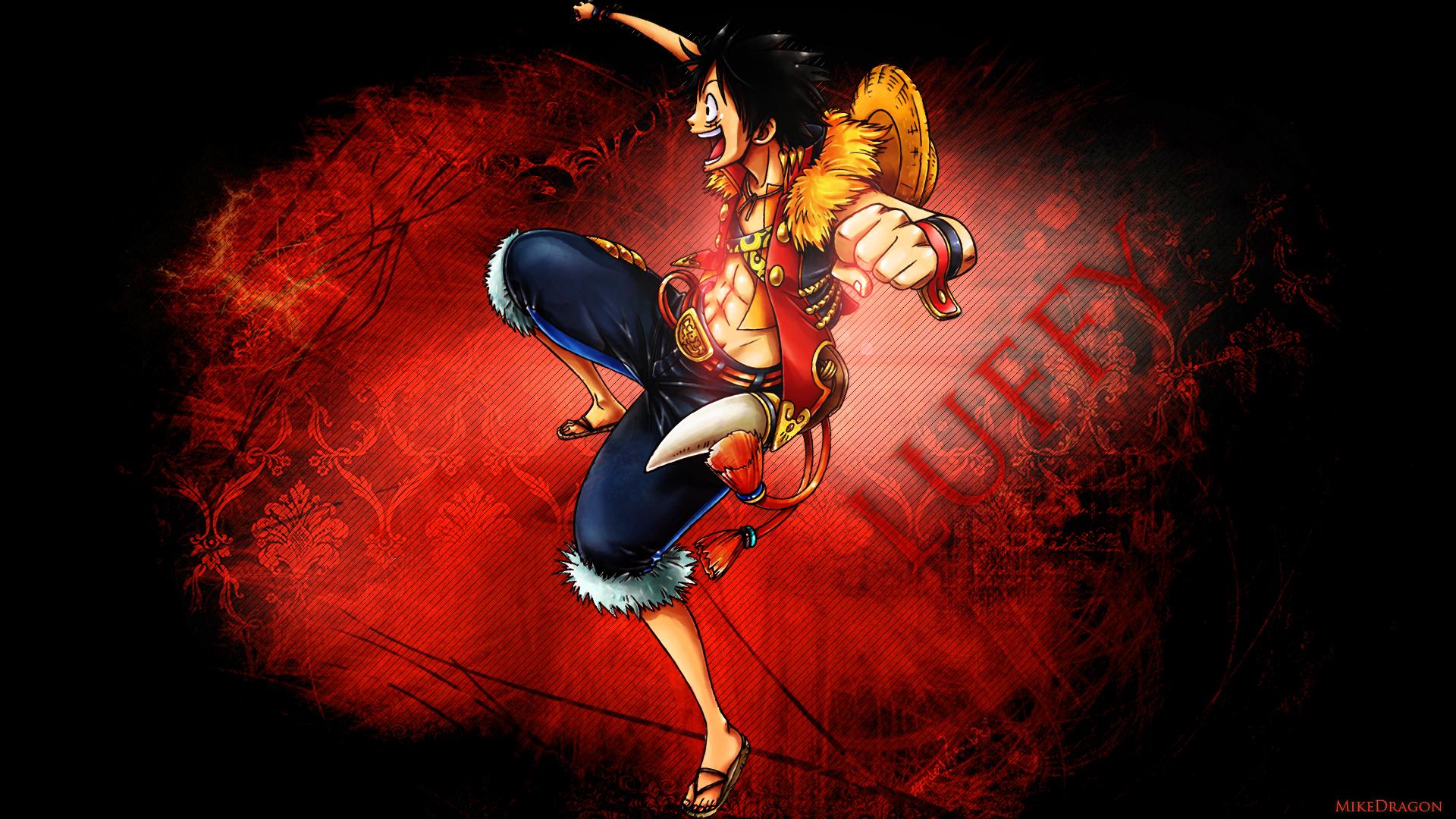 745528 Title Anime One Piece Monkey D Luffy Wallpaper Hd 1920x1080 Download Hd Wallpaper Wallpapertip