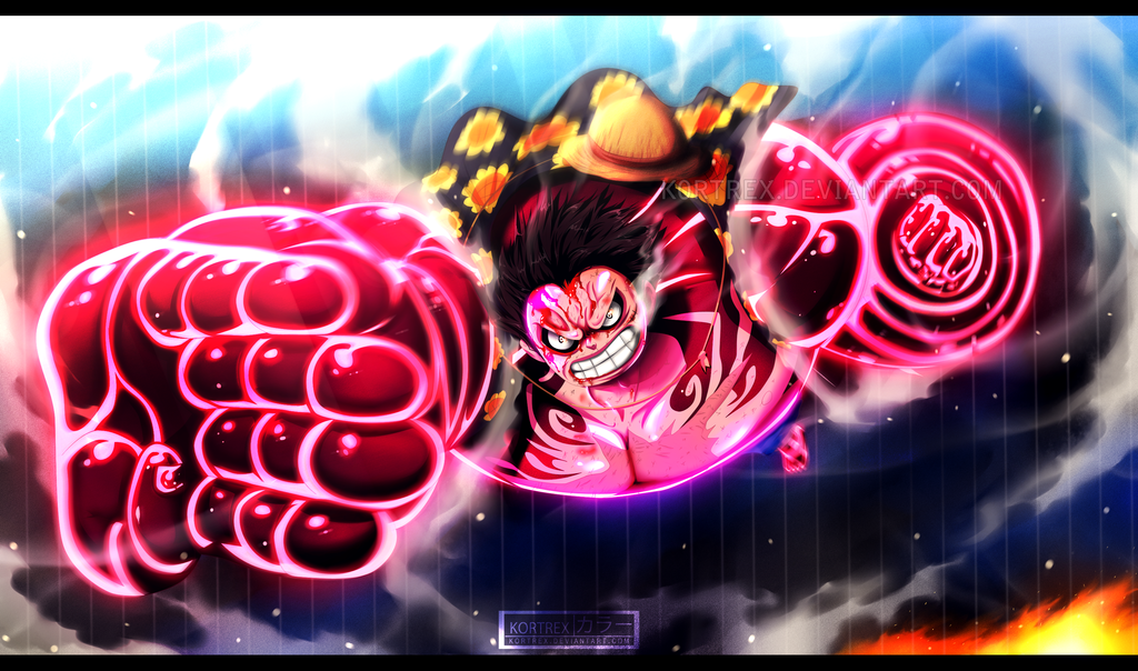 One Piece Luffy Gear 4 Hd 1024x604 Download Hd Wallpaper Wallpapertip