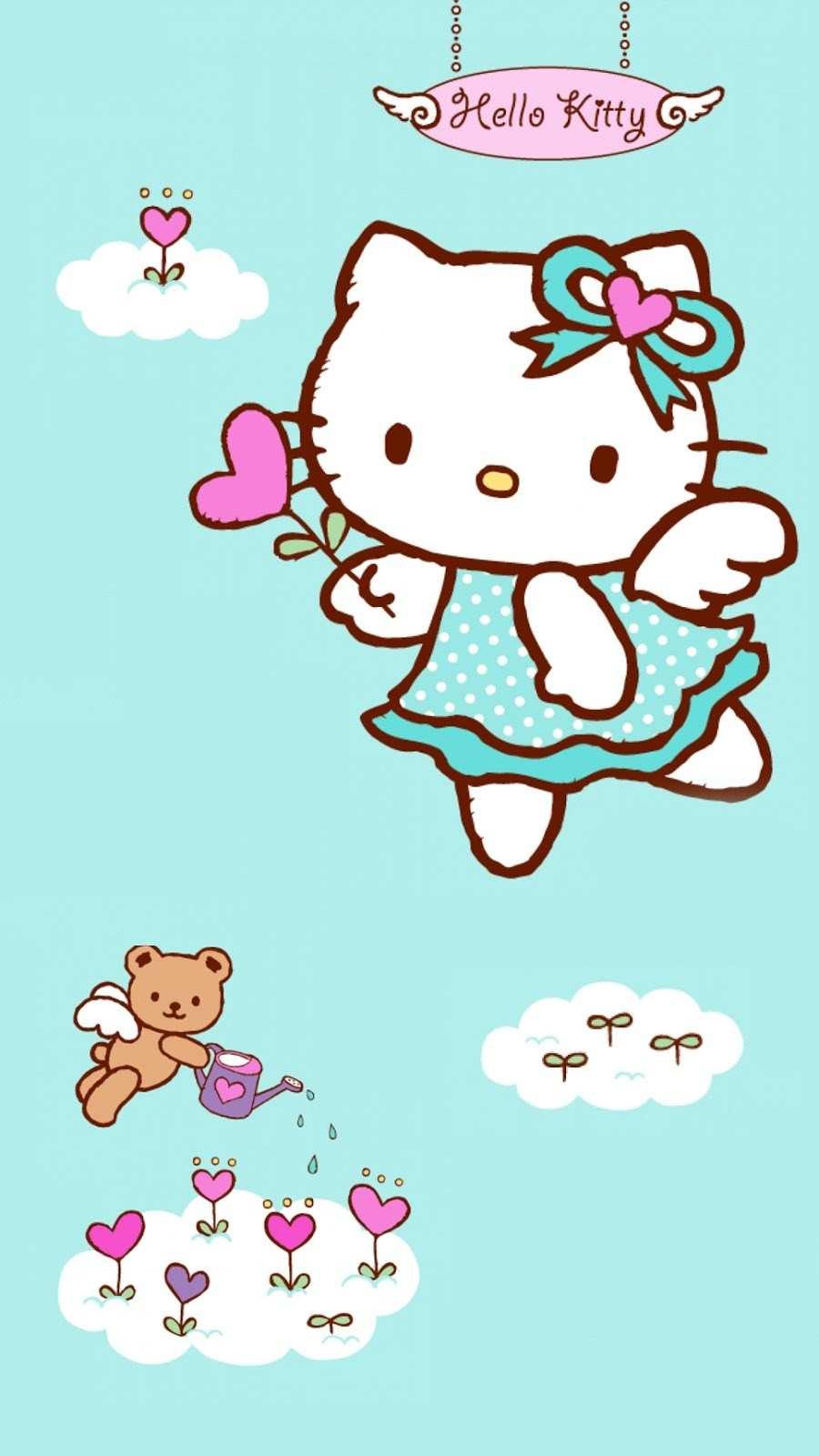 Gambar Wallpaper Hello Kitty Untuk Android 15 Gambar 900x1600 Download Hd Wallpaper Wallpapertip