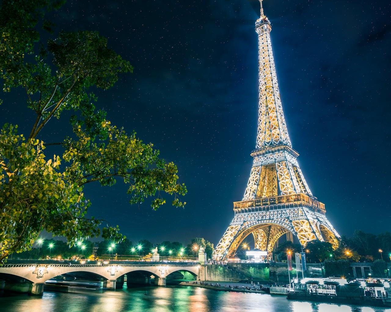 Paris Tour Eiffel 4k Telecharger Fond D Ecran Paris 1280x1024 Wallpapertip
