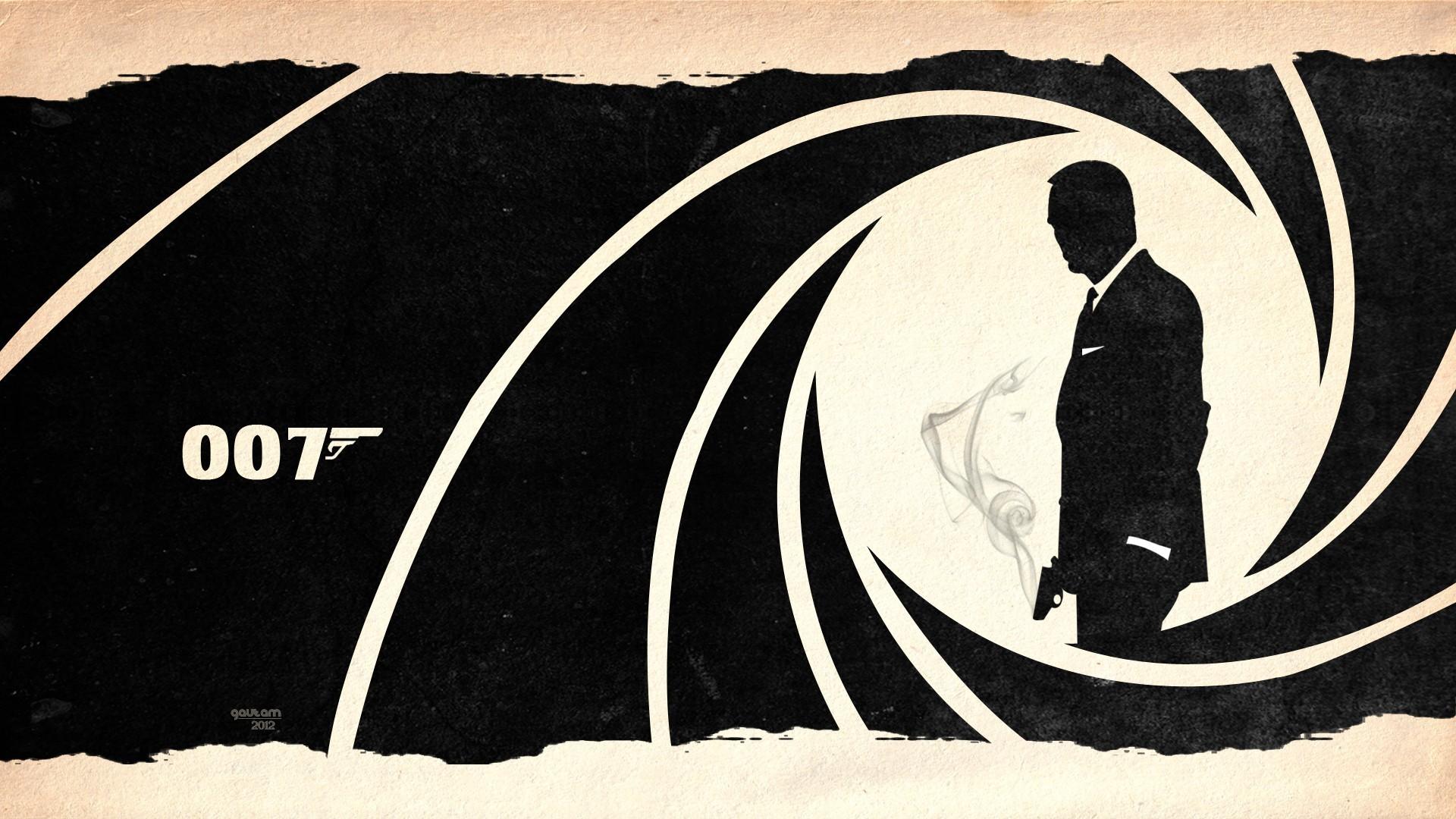 ジェームズボンドシルエット ジェームズ ボンド007壁紙 19x1080 Wallpapertip