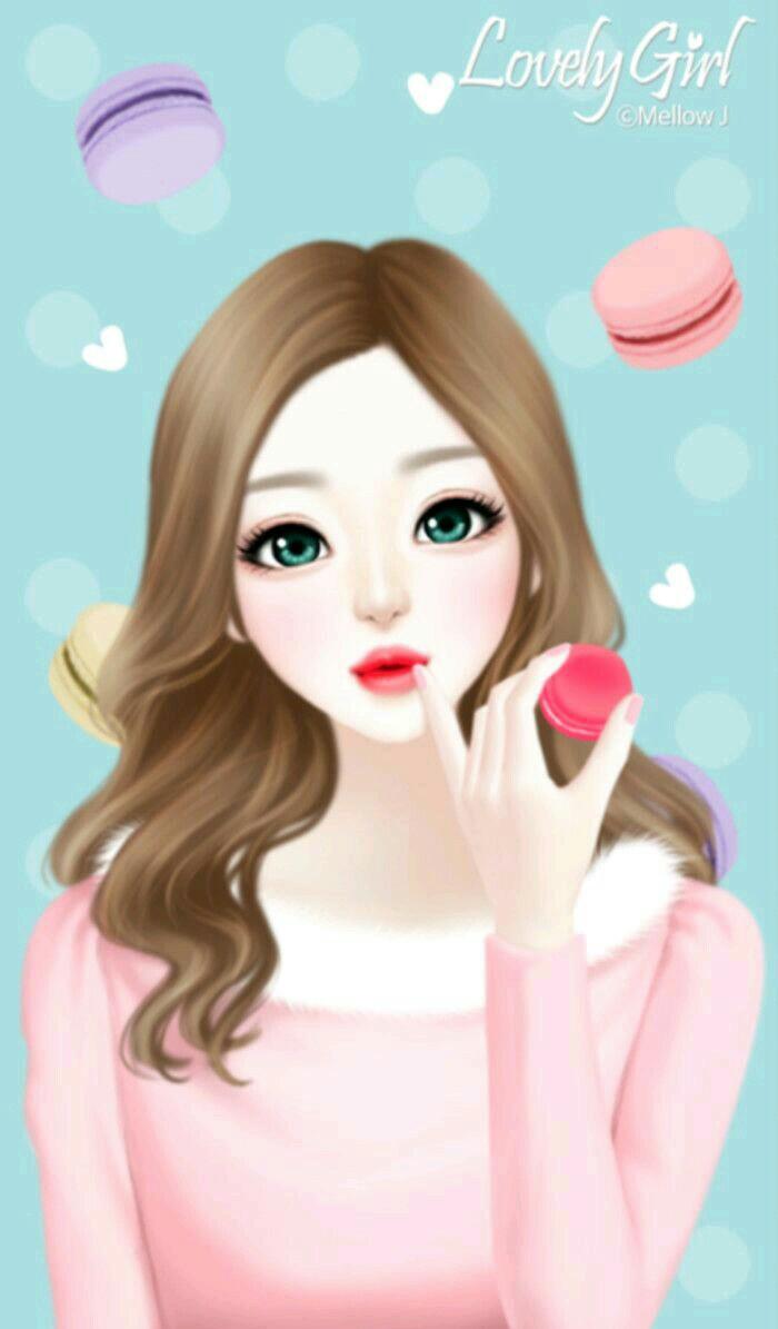 64 643747 cute korean girl cartoon
