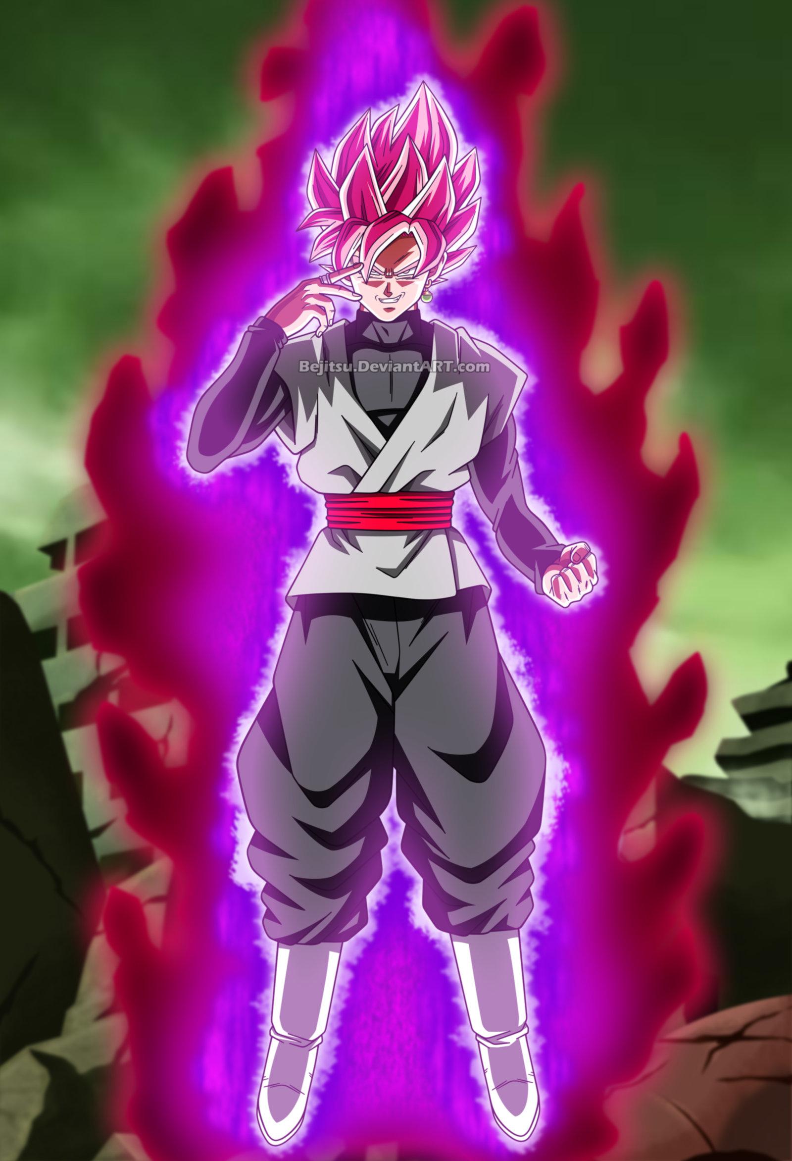 Dragon Ball Super Black Goku By Bejitsu Dragon Ball Super Goku Black Ssj Rose 1600x2344 Download Hd Wallpaper Wallpapertip
