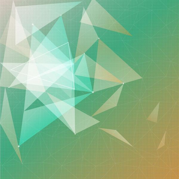 Segitiga Hijau Kuning Gradasi Warna Latar Belakang Gradation Background 600x600 Download Hd Wallpaper Wallpapertip