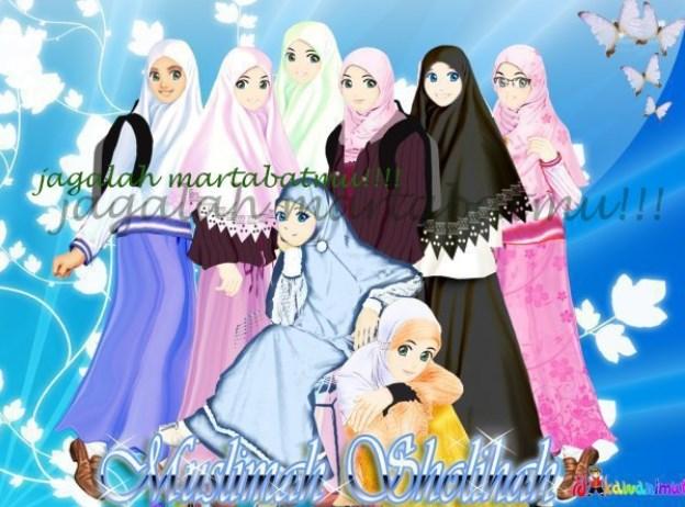 Gambar Kartun Muslimah 8 Sahabat 624x462 Download Hd Wallpaper Wallpapertip