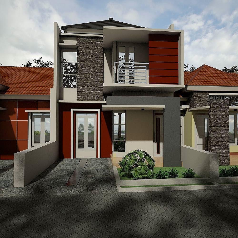 30 Gambar Tampak Depan Rumah Minimalis 1 Dan 2 Lantai Rumah Tingkat Bata Merah 1000x1000 Download Hd Wallpaper Wallpapertip