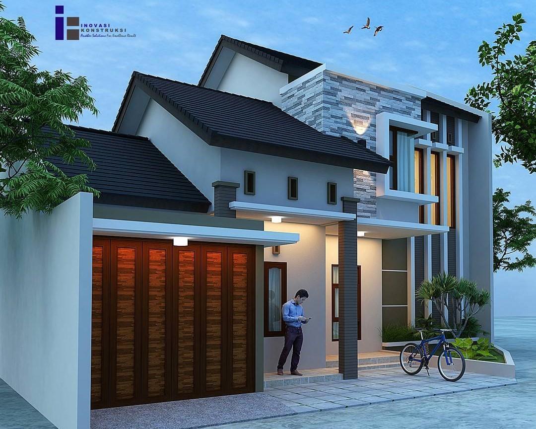 18 Desain Rumah Minimalis Modern Terbaru 2018 Dekor Rumah Minimalis Garasi Samping 1080x864 Download Hd Wallpaper Wallpapertip
