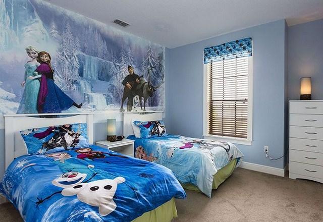 Kamar Tidur Frozen Sederhana Terupdate Saat Ini