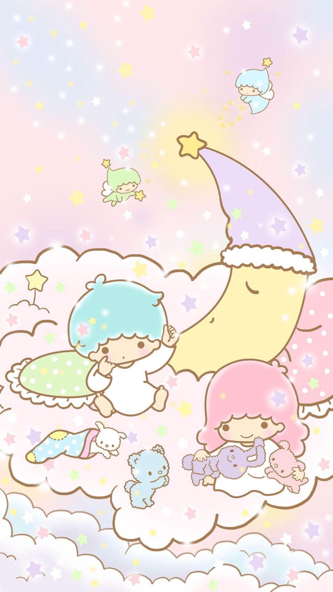 Iphone 11 Little Twin Stars 1080x1920 Download Hd Wallpaper Wallpapertip