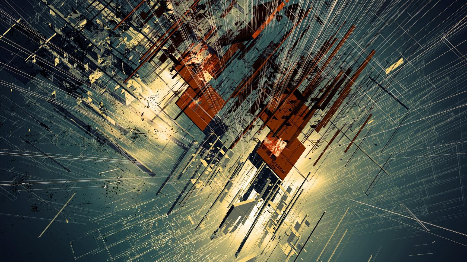 Space Abstract Wallpapers 4k 1920x1080 Download Hd Wallpaper Wallpapertip