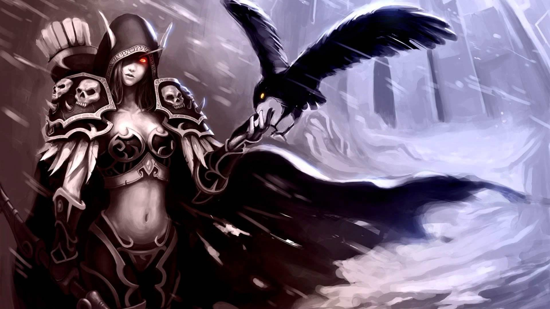 World Of Warcraft Wallpaper Sylvanas 1920x1080 Download Hd Wallpaper Wallpapertip