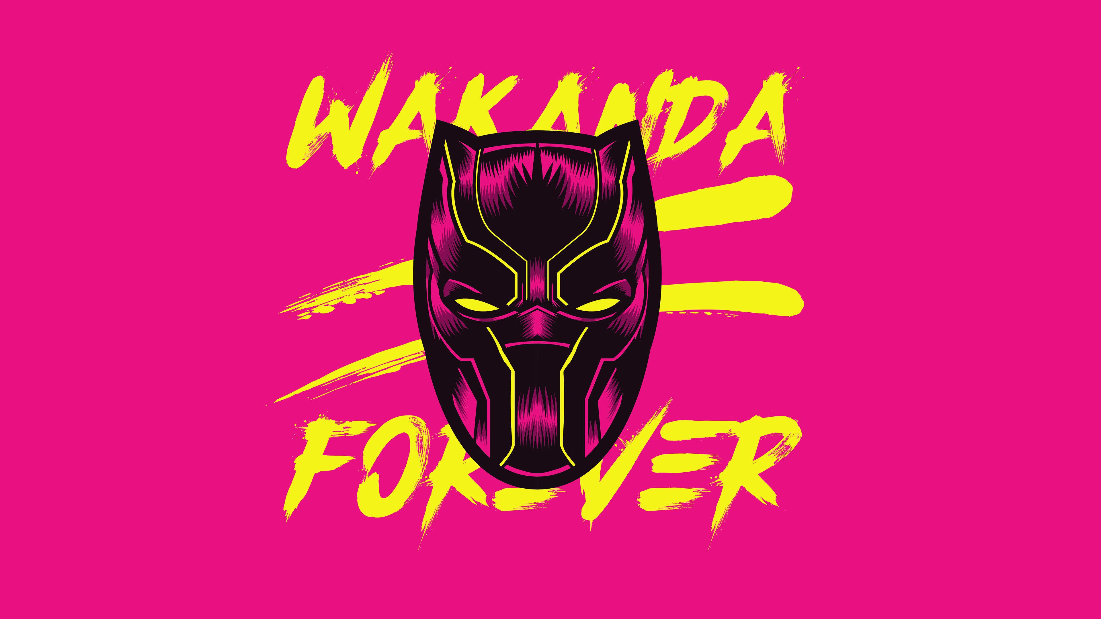 Black Panther Wakanda Forever Black Panther Wakanda Forever Wallpaper Hd 3840x2160 Download Hd Wallpaper Wallpapertip