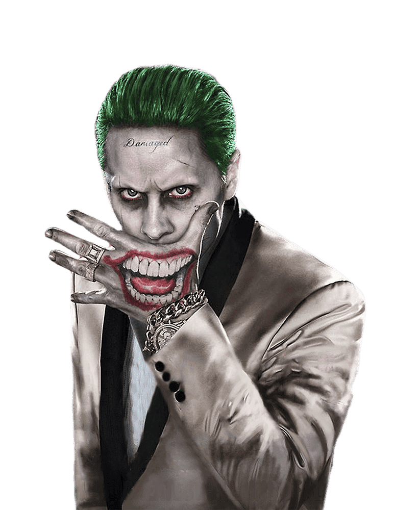Dceu S Joker Jared Leto Suicide Squad Joker Png 772x1000 Download Hd Wallpaper Wallpapertip