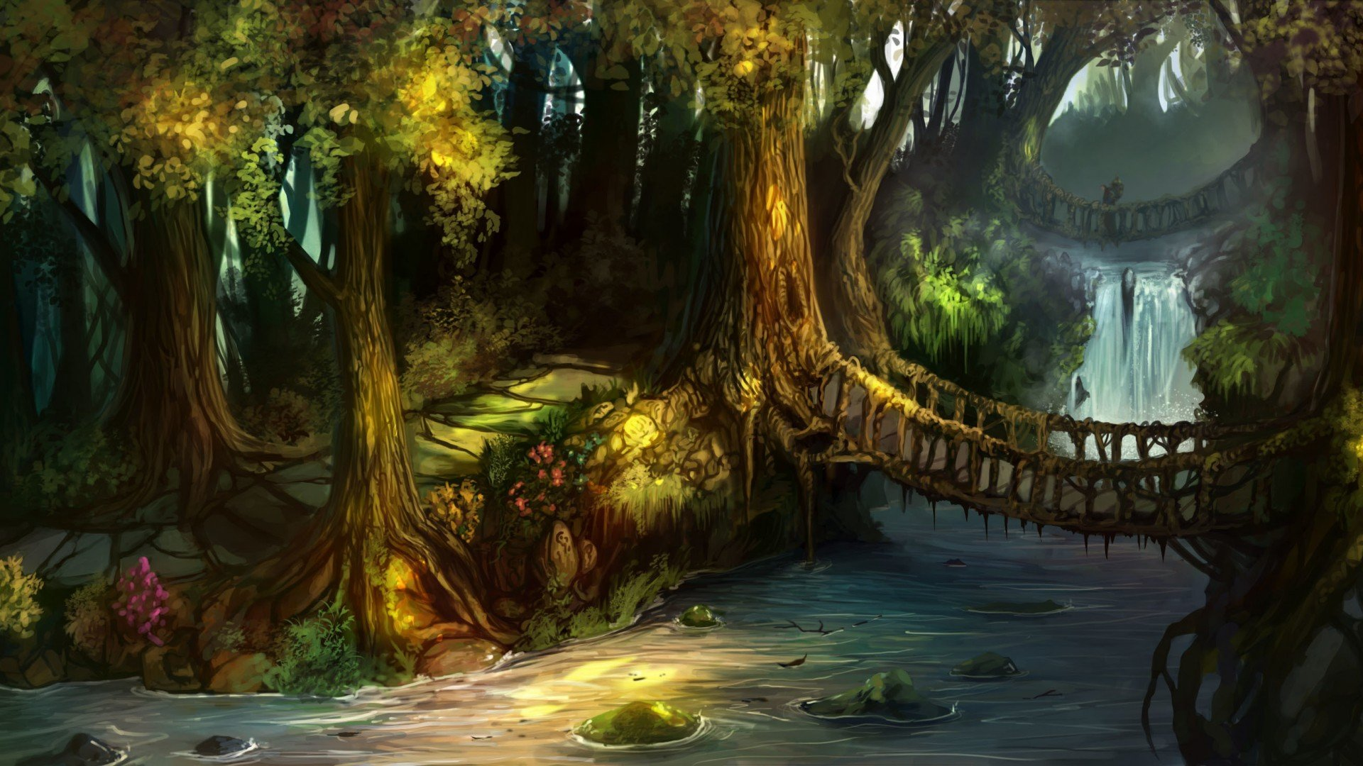 Swamp Wallpaper Swamp Shrek Background 1920x1080 Download Hd Wallpaper Wallpapertip