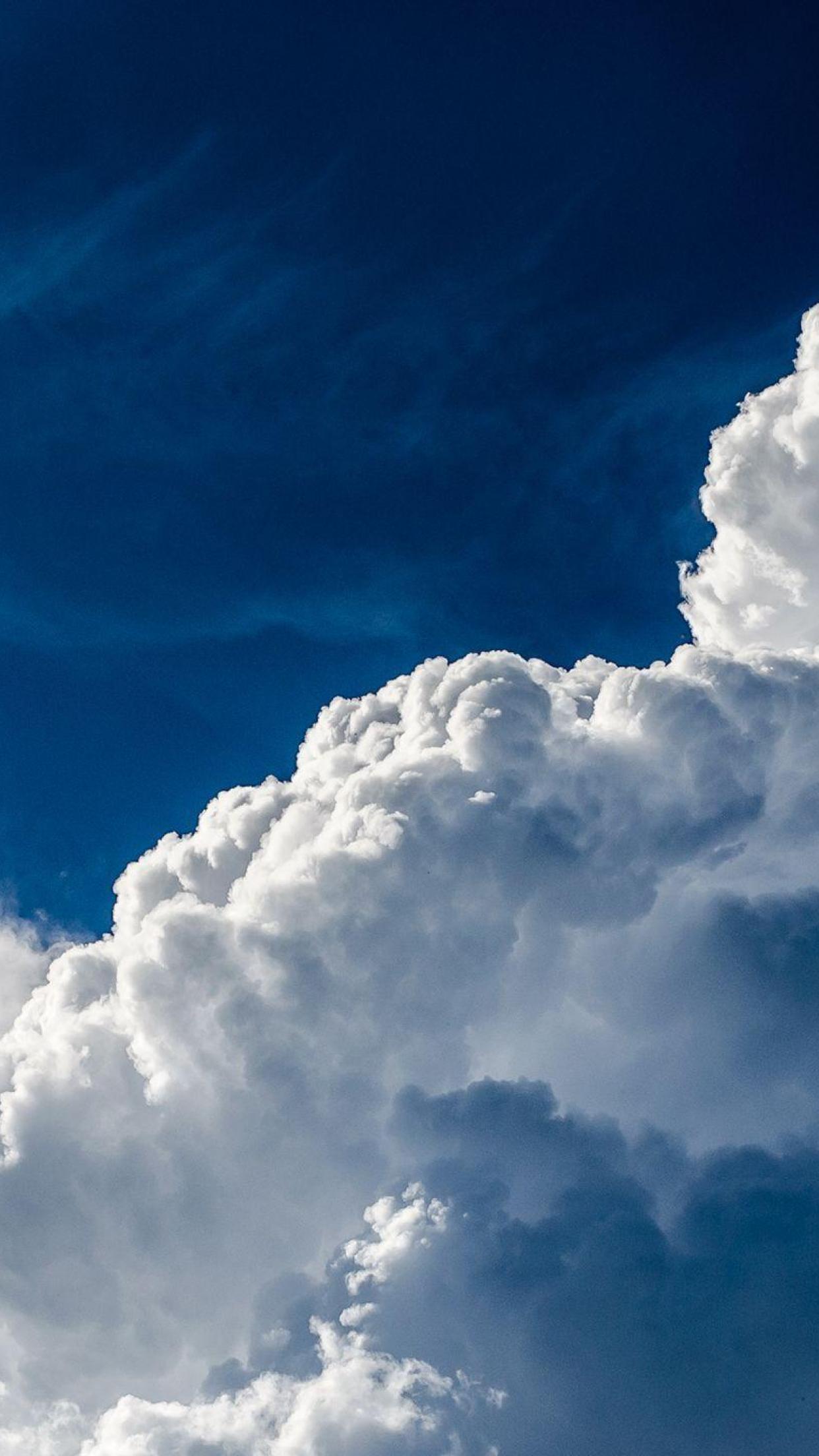 blaue Wolken iPhone Hintergrund   Cloud Live Wallpaper   21x21 ...