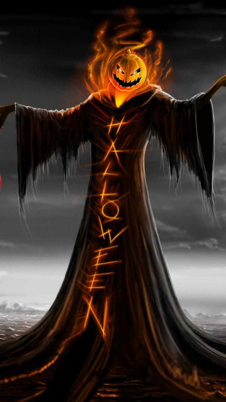 Halloween Iphone Scary Backgrounds 736x1309 Download Hd Wallpaper Wallpapertip