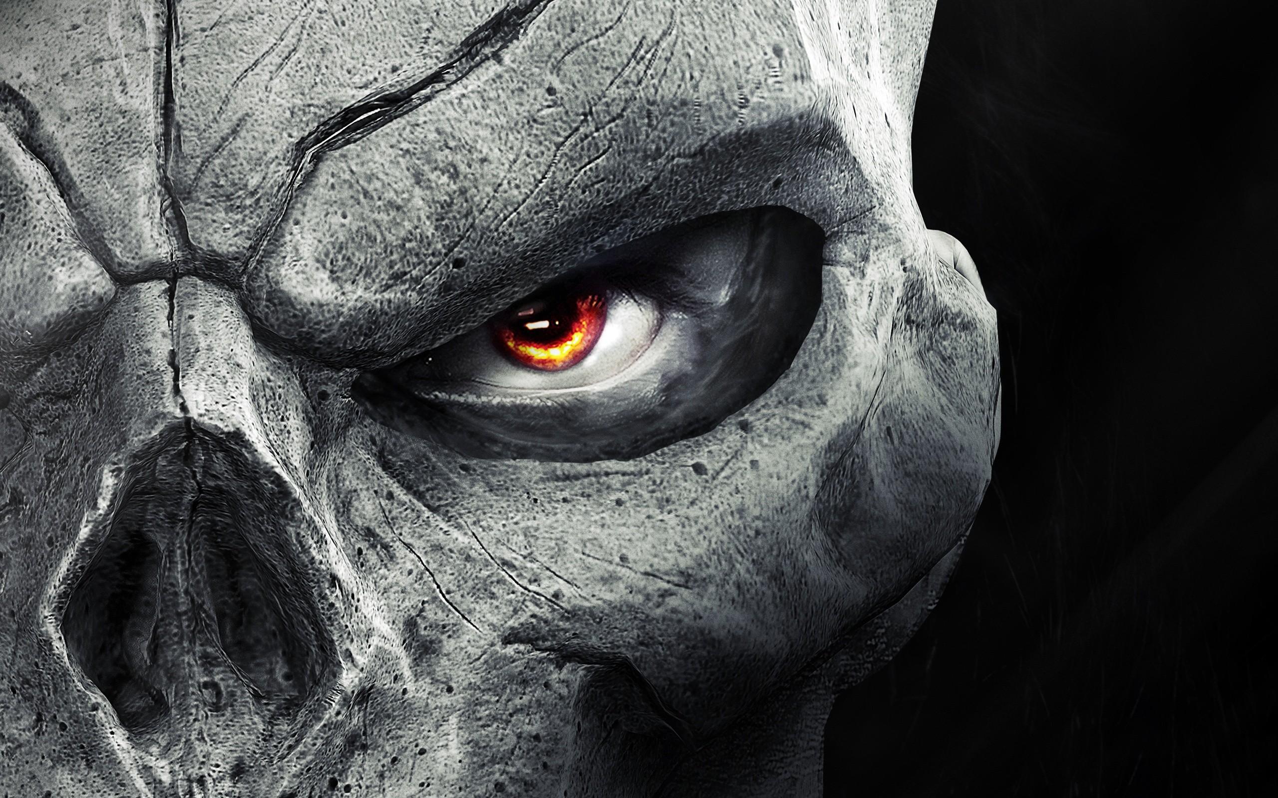 Darksiders Ii Skull Dark Eye Wallpaper ...