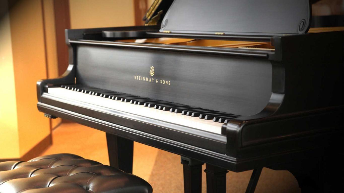 Pianos Steinway Sons 1366x768 Download Hd Wallpaper Wallpapertip