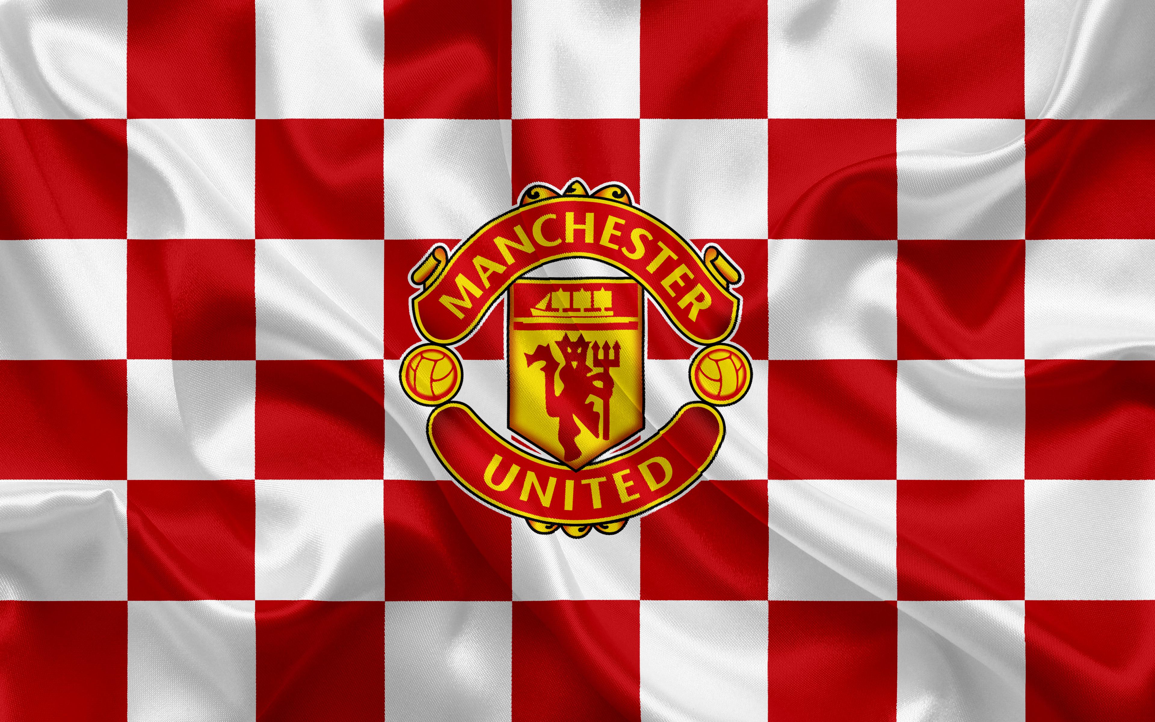 969523 Title Manchester United Logo Sports Manchester Arsenal Logo 3840x2400 Download Hd Wallpaper Wallpapertip