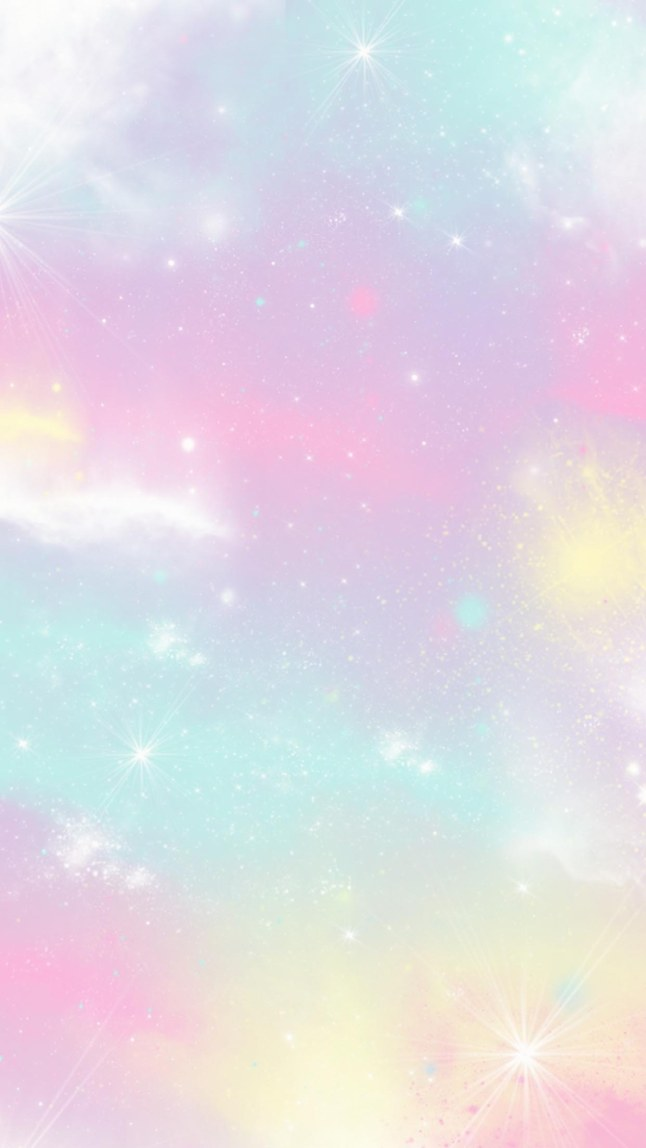 Pastel Stars Pastel Cotton Candy Sky 646x1148 Download Hd Wallpaper Wallpapertip