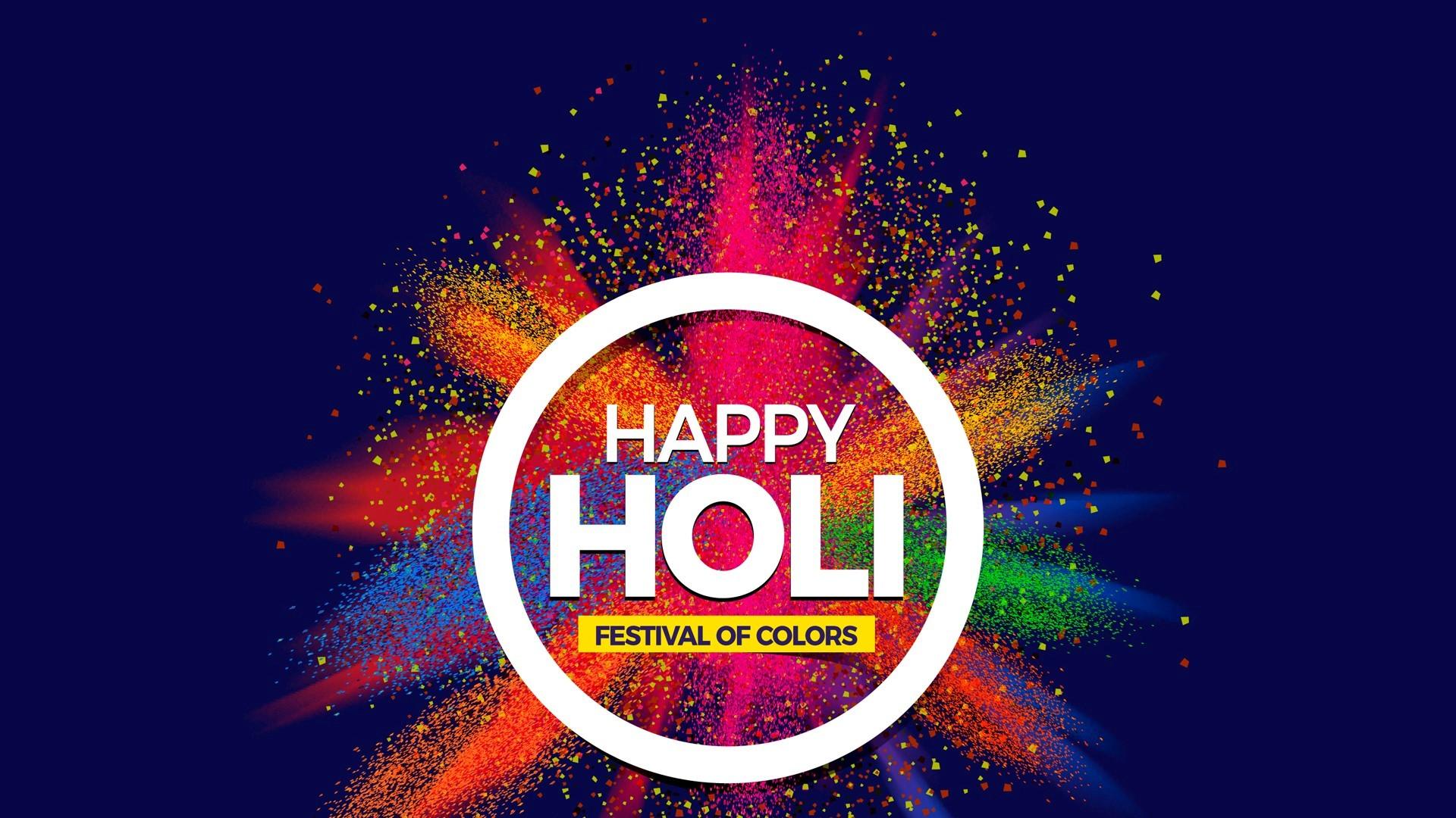 Hd Wallpaper Of Happy Holi Happy Holi Images Hd 1920x1080 Download Hd Wallpaper Wallpapertip