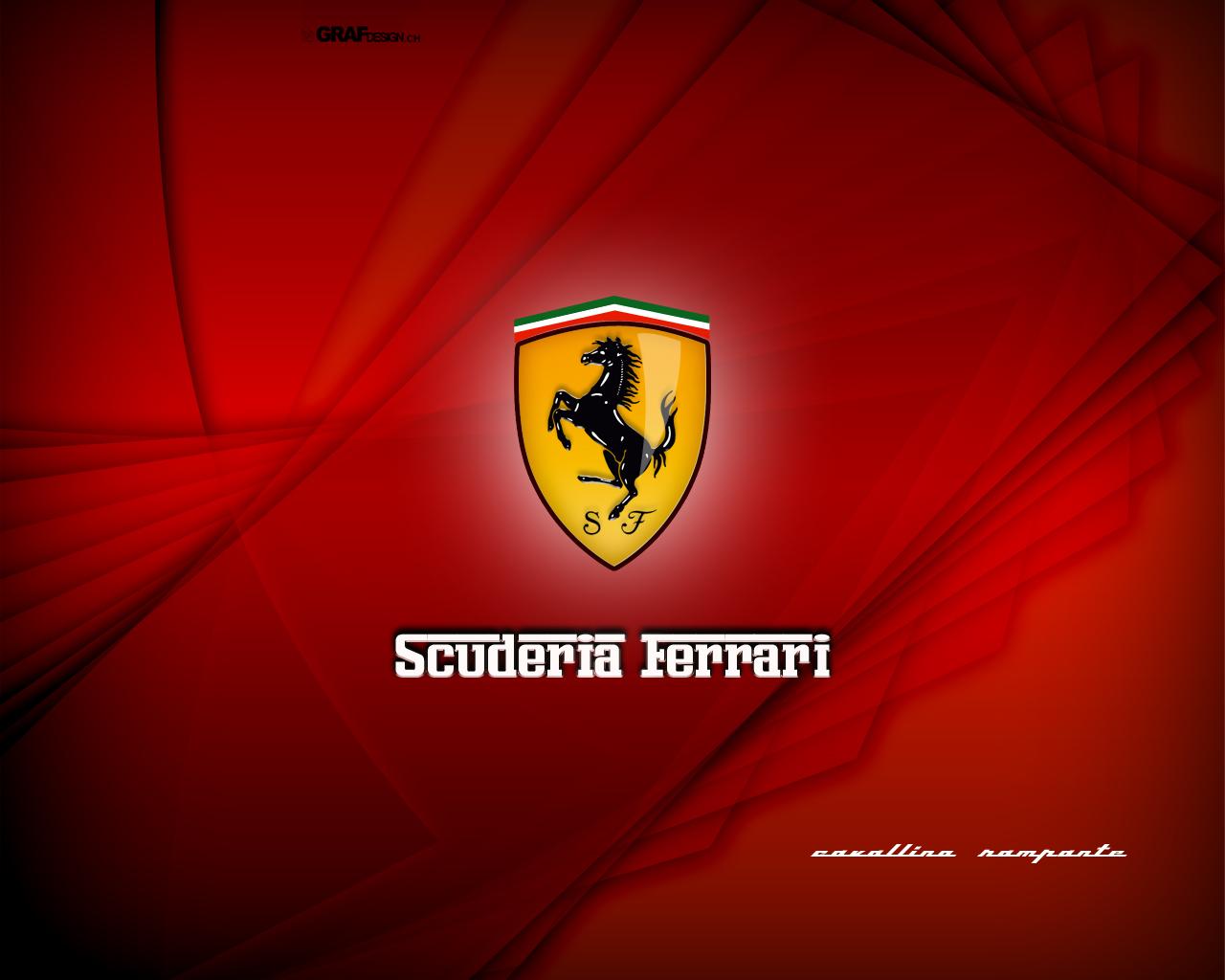 Scuderia Ferrari Ferrari Logo Wallpaper 1280x1024 Wallpapertip