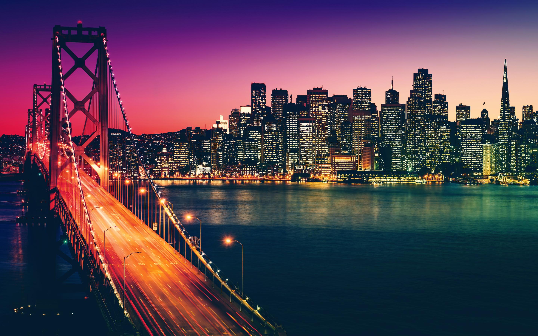 サンフランシスコの街の背景 Macbook Proの網膜の壁紙x1800 x1800 Wallpapertip