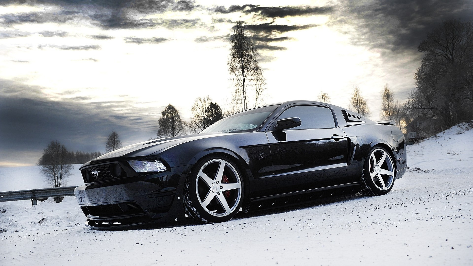 Mustang Wallpaper Black Mustang Wallpaper Hd 1920x1080 Download Hd Wallpaper Wallpapertip