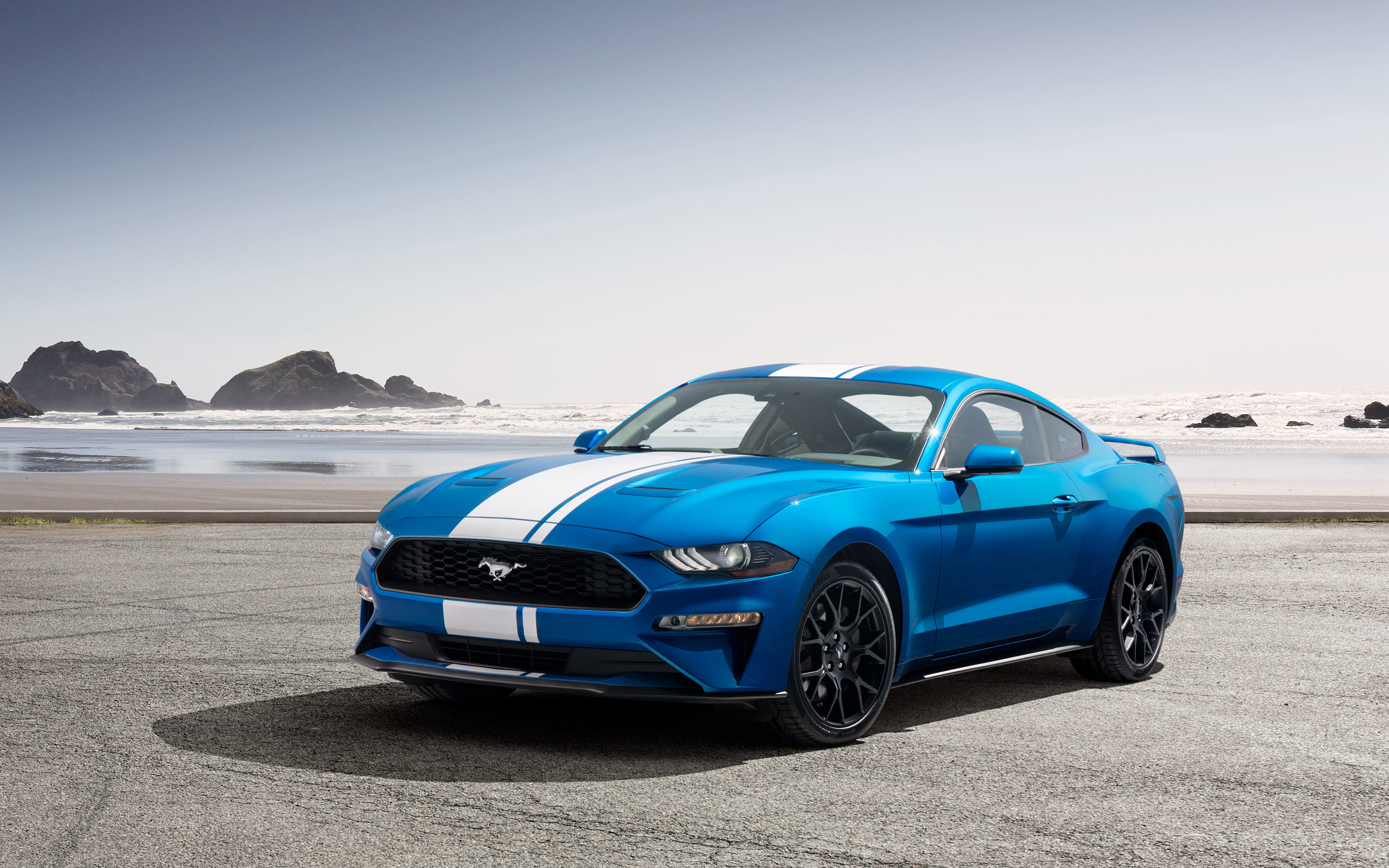 2019 Ford Mustang Ecoboost Performance Pack 4k 2019 Mustang Ecoboost Performance Package 3840x2400 Download Hd Wallpaper Wallpapertip