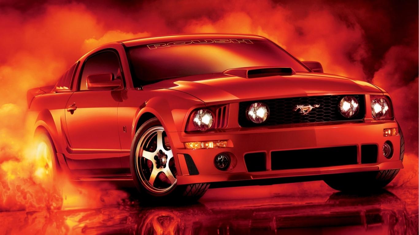 Mustang Wallpaper Ford Mustang Car 3d 1366x768 Download Hd Wallpaper Wallpapertip