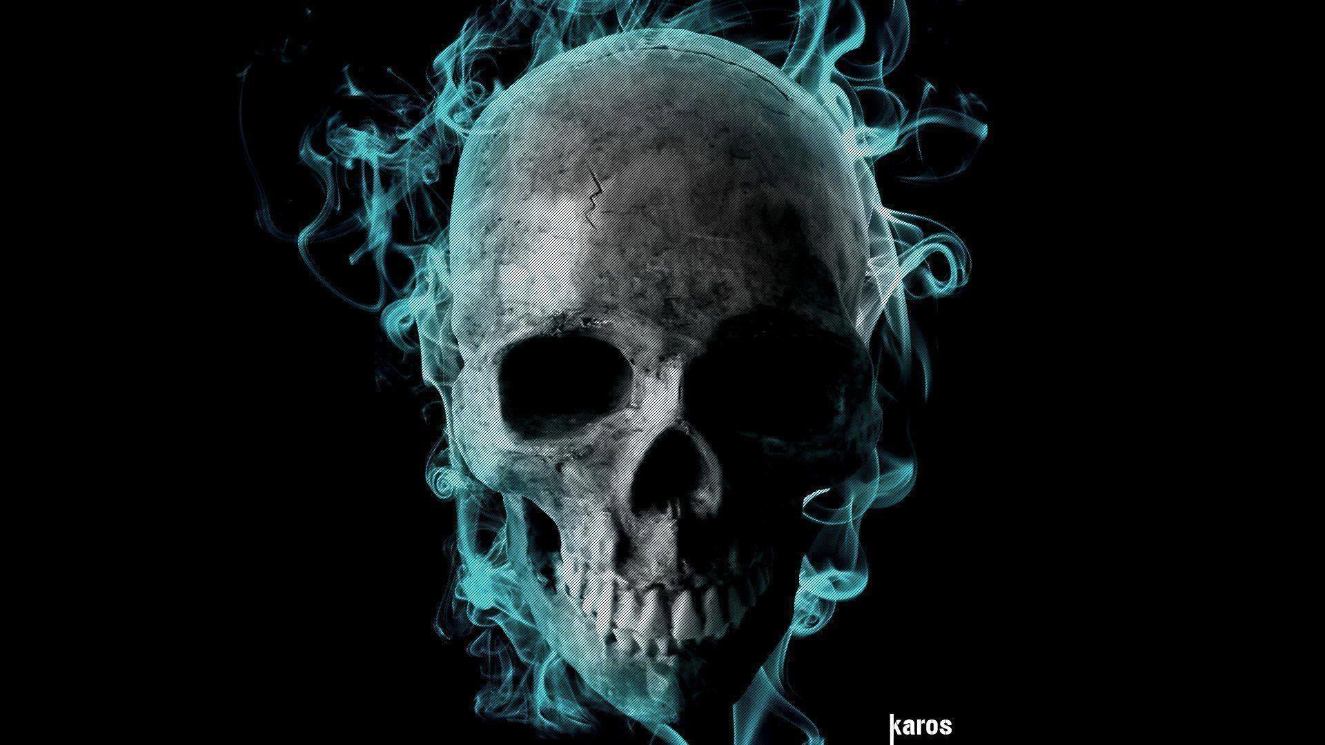 Taringa Data Src W Full A 3 E 204757 Ultra Hd 4k Skull 1920x1080 Download Hd Wallpaper Wallpapertip