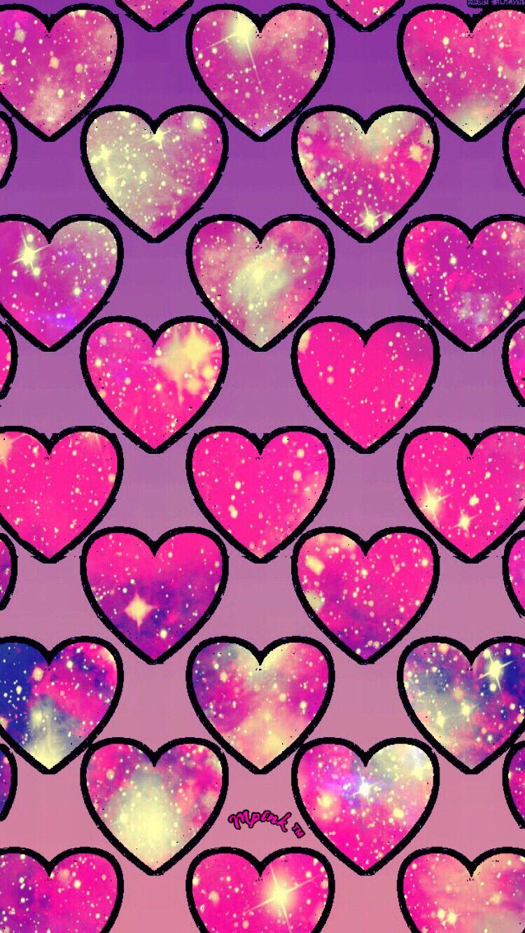 女の子のための心のかわいい壁紙 かわいいハートの壁紙 750x1334 Wallpapertip