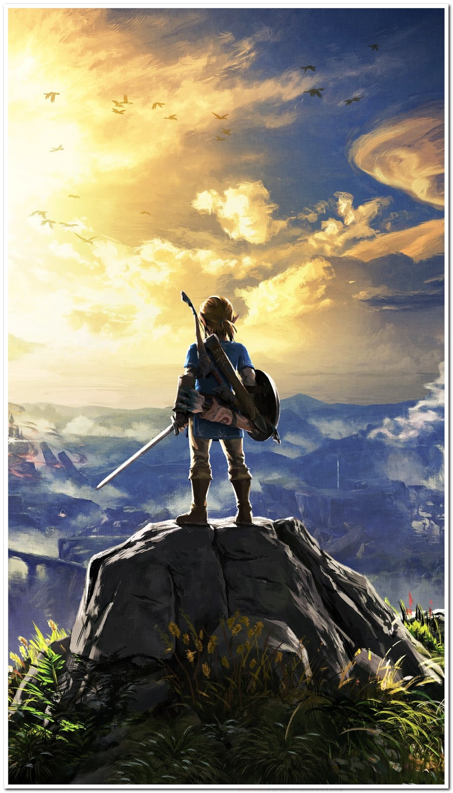 The Legend Of Zelda Breath On The Wild Wallpaper Zelda Breath Of The Wild 2 915x1600 Download Hd Wallpaper Wallpapertip
