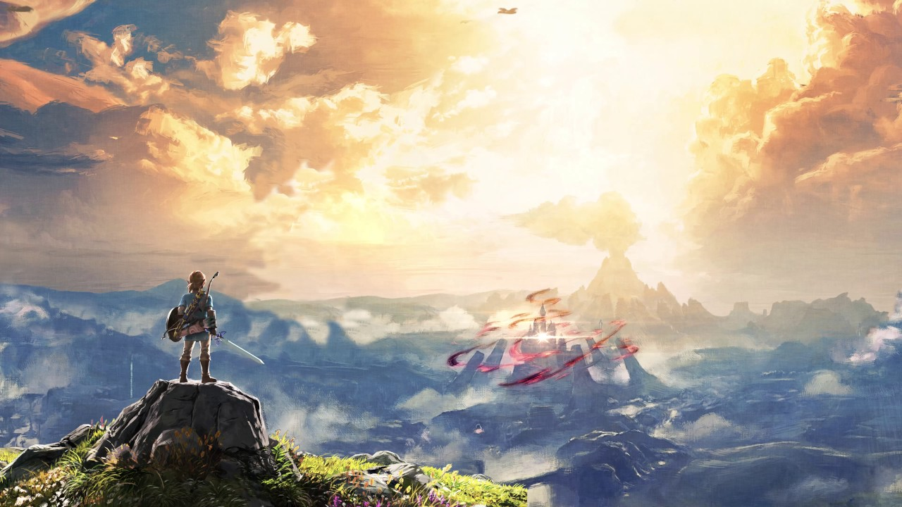 Legend Of Zelda Breath Of The Wild Background - 1280x720 ...