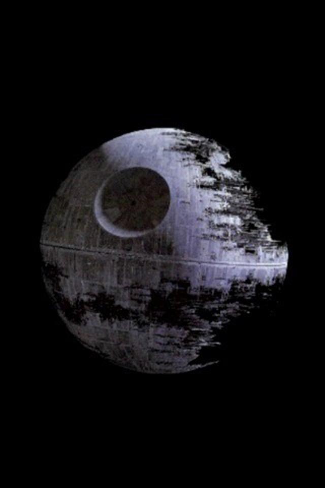 View Full Size More Star Wars Death Star Iphone Wallpaper Death Star 640x960 Download Hd Wallpaper Wallpapertip