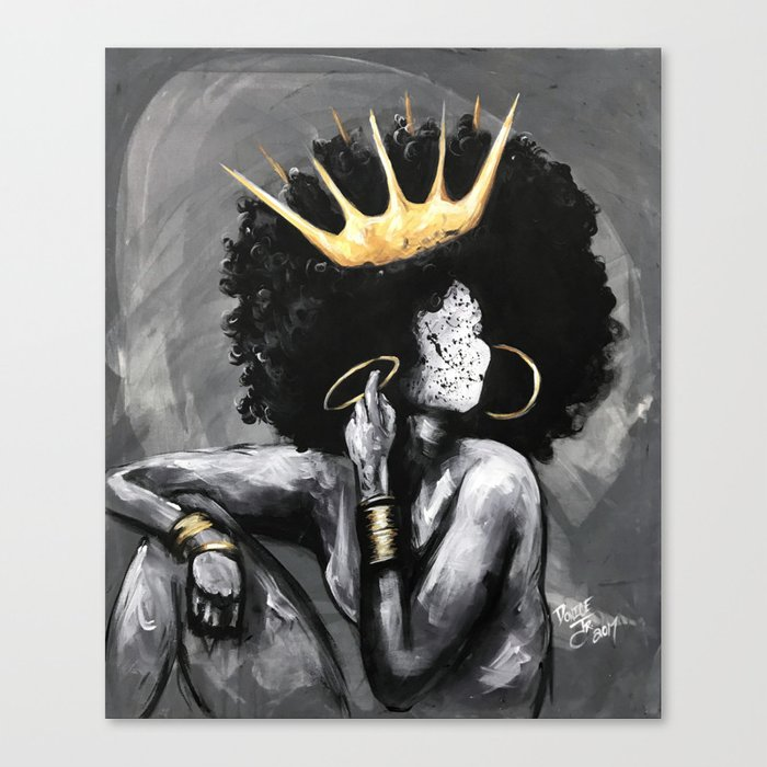 Naturally Queen Vi By Dacre8iveone Black Queen With Crown Art 700x700 Download Hd Wallpaper Wallpapertip