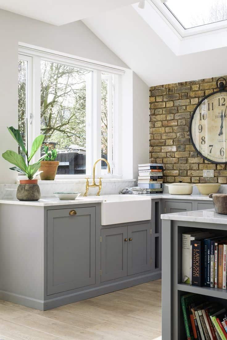 Brick Wallpaper Kitchen Ideas   9x9   Download HD Wallpaper ...