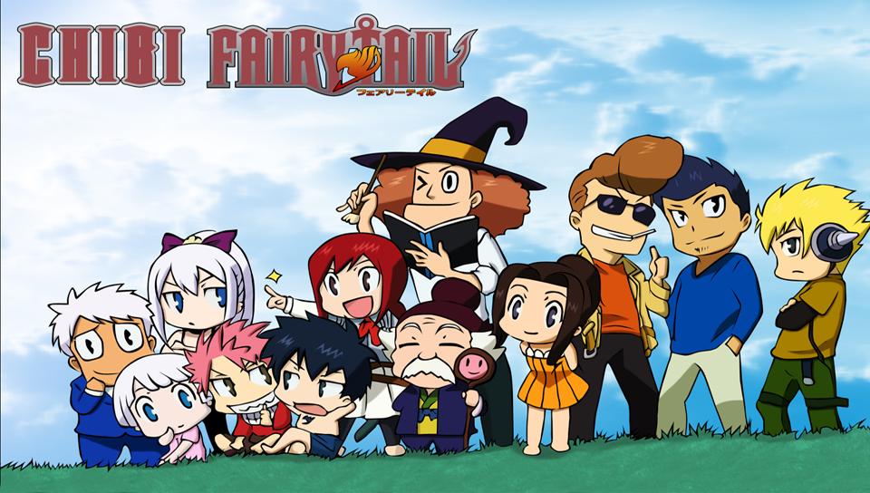 Chibi Fairy Tail 960x544 Download Hd Wallpaper Wallpapertip