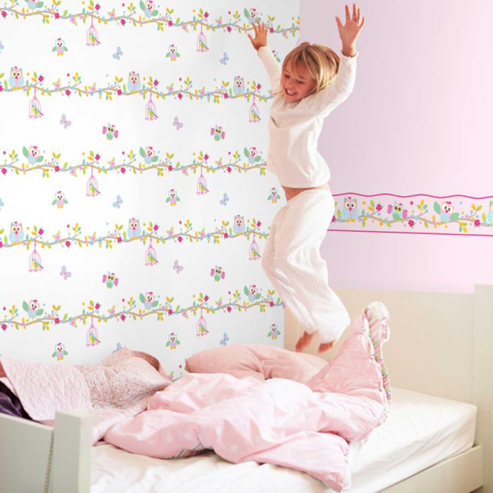 Girls Bedroom Wallpaper Borders Butterfly Fairies Pink Murals For Girl Bedroom 1600x1600 Download Hd Wallpaper Wallpapertip