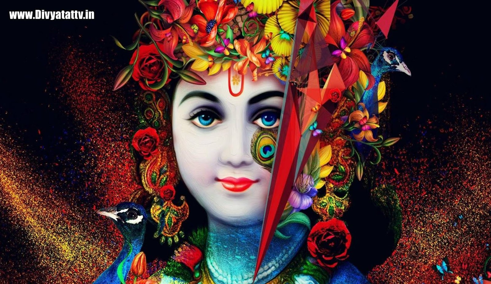 Attractive Sri Krishna Images Photos And Wallpapers Krishna Wallpaper Hd 1600x926 Download Hd Wallpaper Wallpapertip