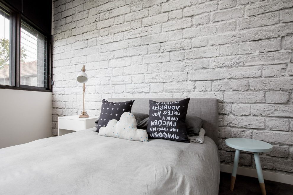 White Brick Bedroom Walls Wallpaper Ecopetit Cat White Brick Walls In Bedrooms 990x660 Download Hd Wallpaper Wallpapertip