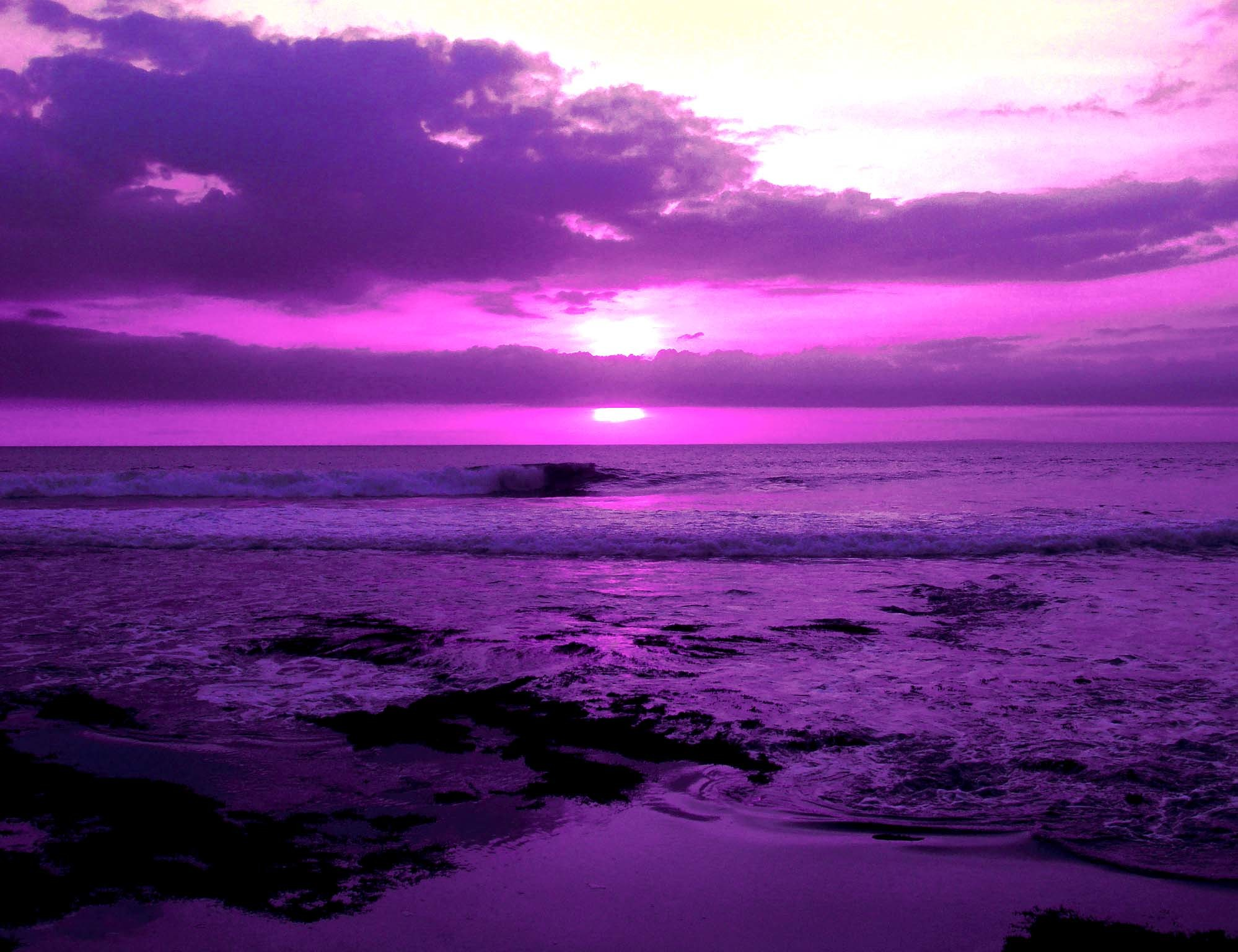Purple Background Desktop Background Dark Purple Sunset 1998x1536 Download Hd Wallpaper Wallpapertip