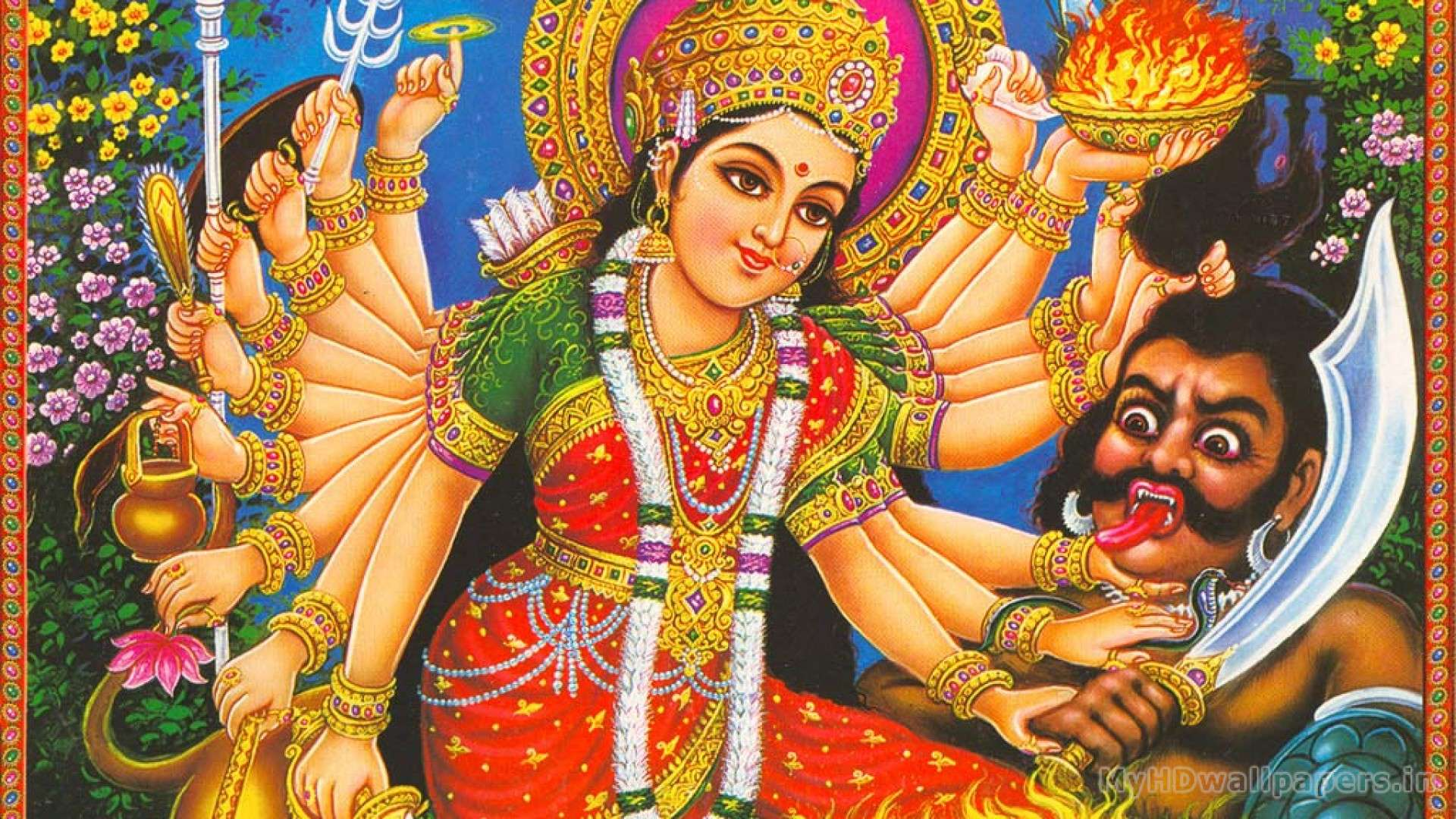 Maa Durga Hd Wallpaper Desktop Hd Wallpapers 3d Durga Maa Wallpaper Full Size 1920x1080 Download Hd Wallpaper Wallpapertip