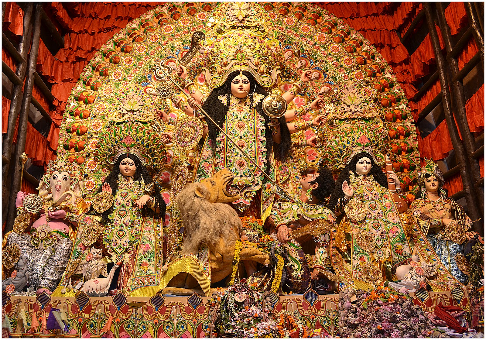 Durga Puja Wallpaper Unique Photo Of Durga Maa 1600x1119 Download Hd Wallpaper Wallpapertip