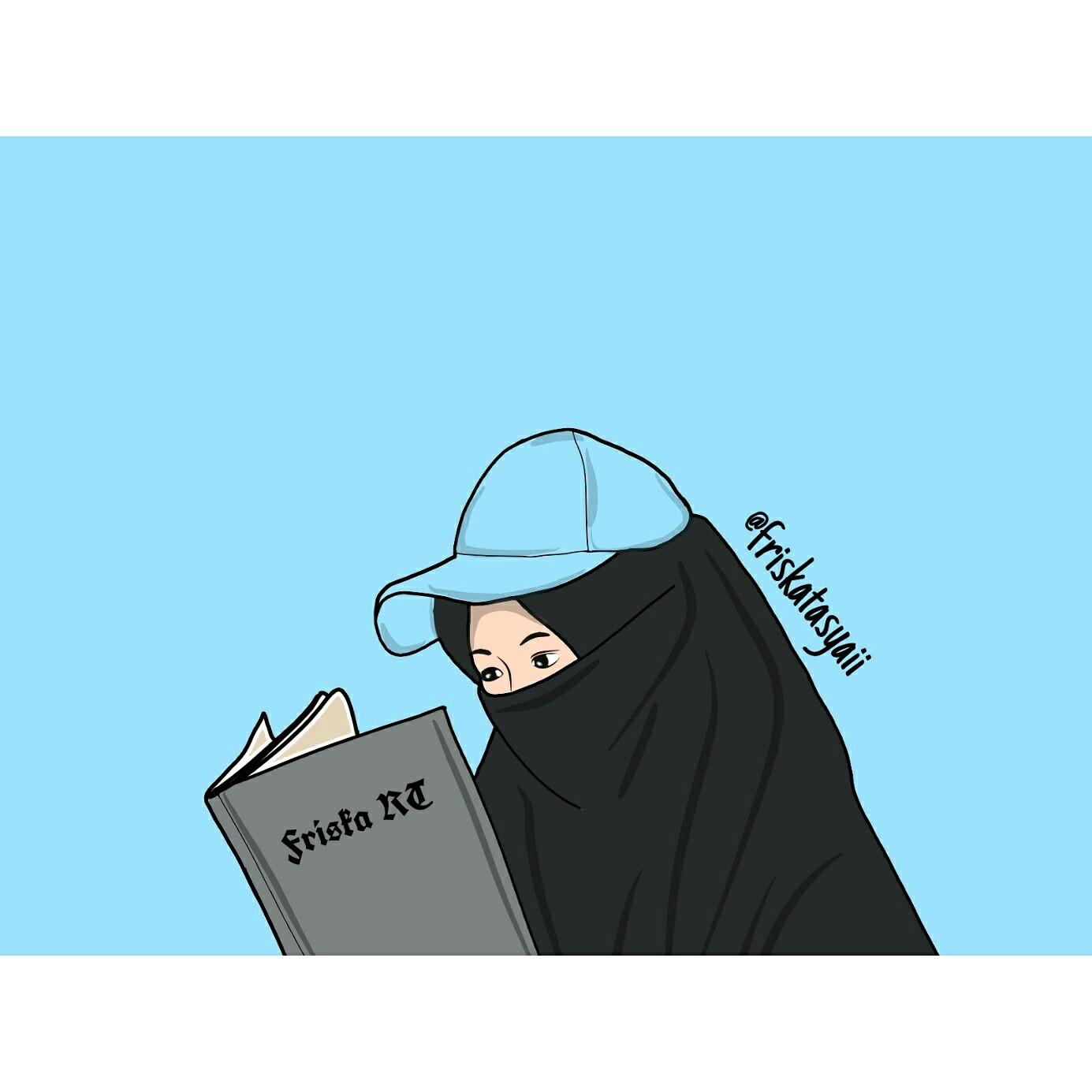 50 Gambar Kartun Muslimah Bercadar Cantik Berkacamata Kartun Muslimah Bercadar Gambar Ukhti 1385x1385 Download Hd Wallpaper Wallpapertip