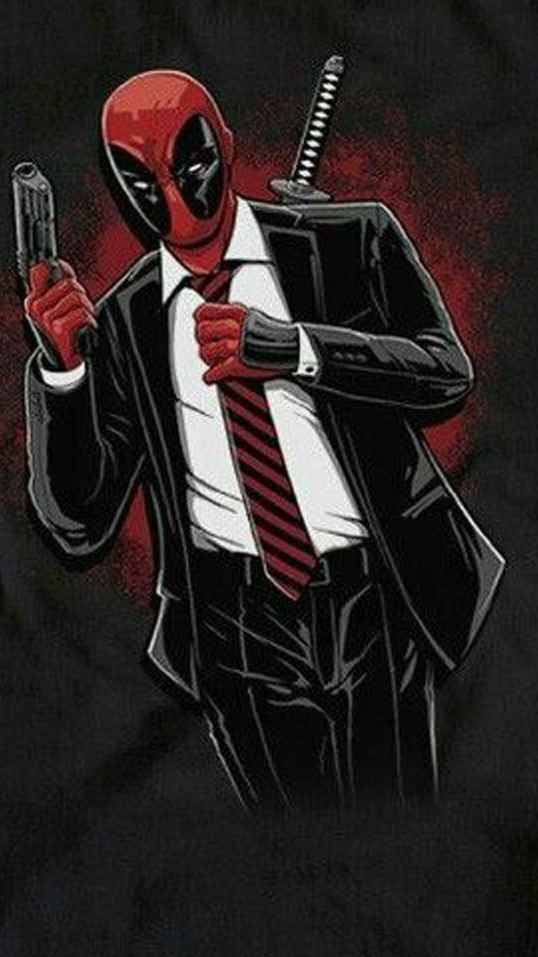1080x1920 Deadpool Movie Hd Wallpapers Free Download Deadpool In A Suit 1080x1920 Download Hd Wallpaper Wallpapertip