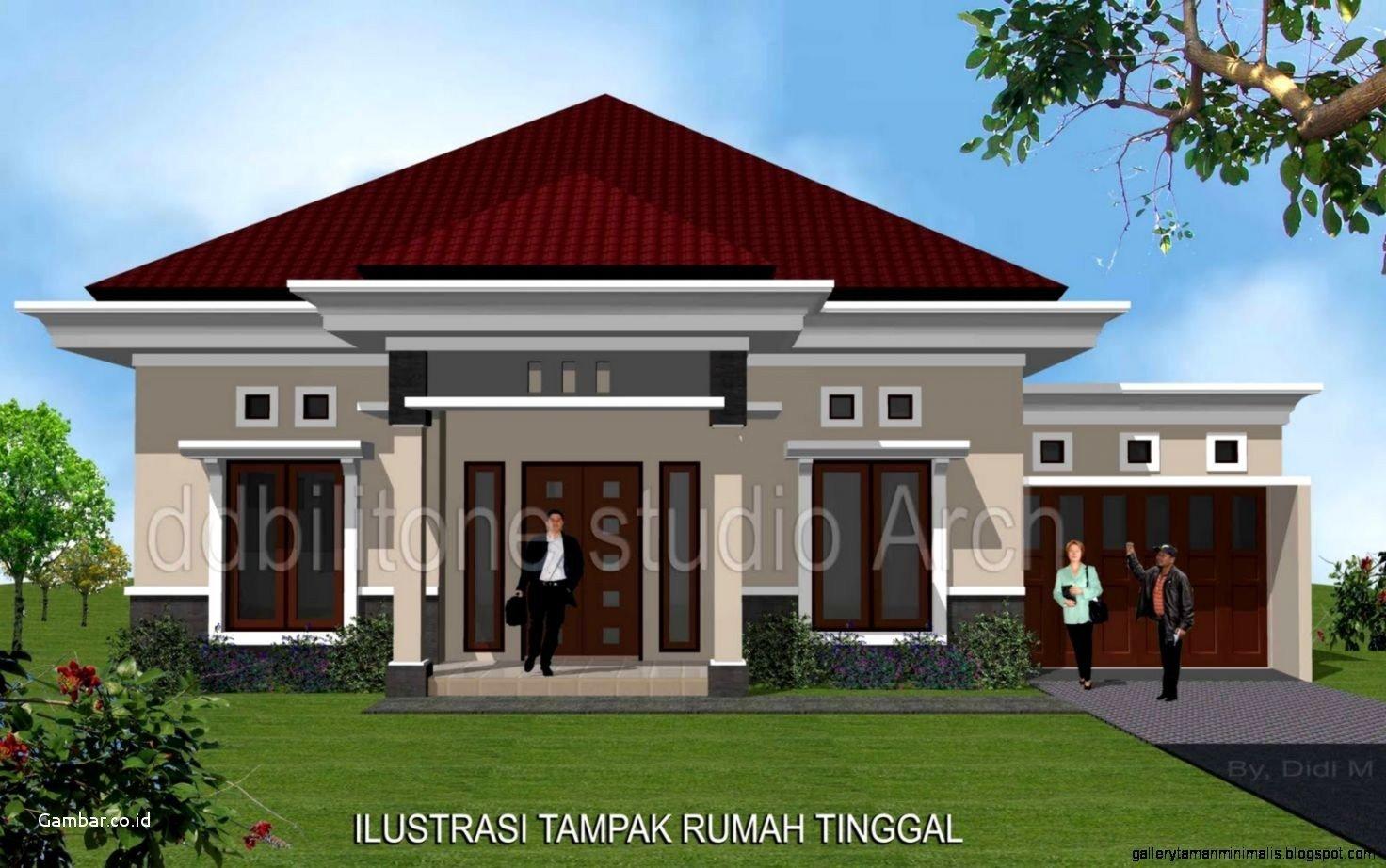 Rumah Minimalis 1 Lantai Tampak Depan 1472x922 Download Hd Wallpaper Wallpapertip