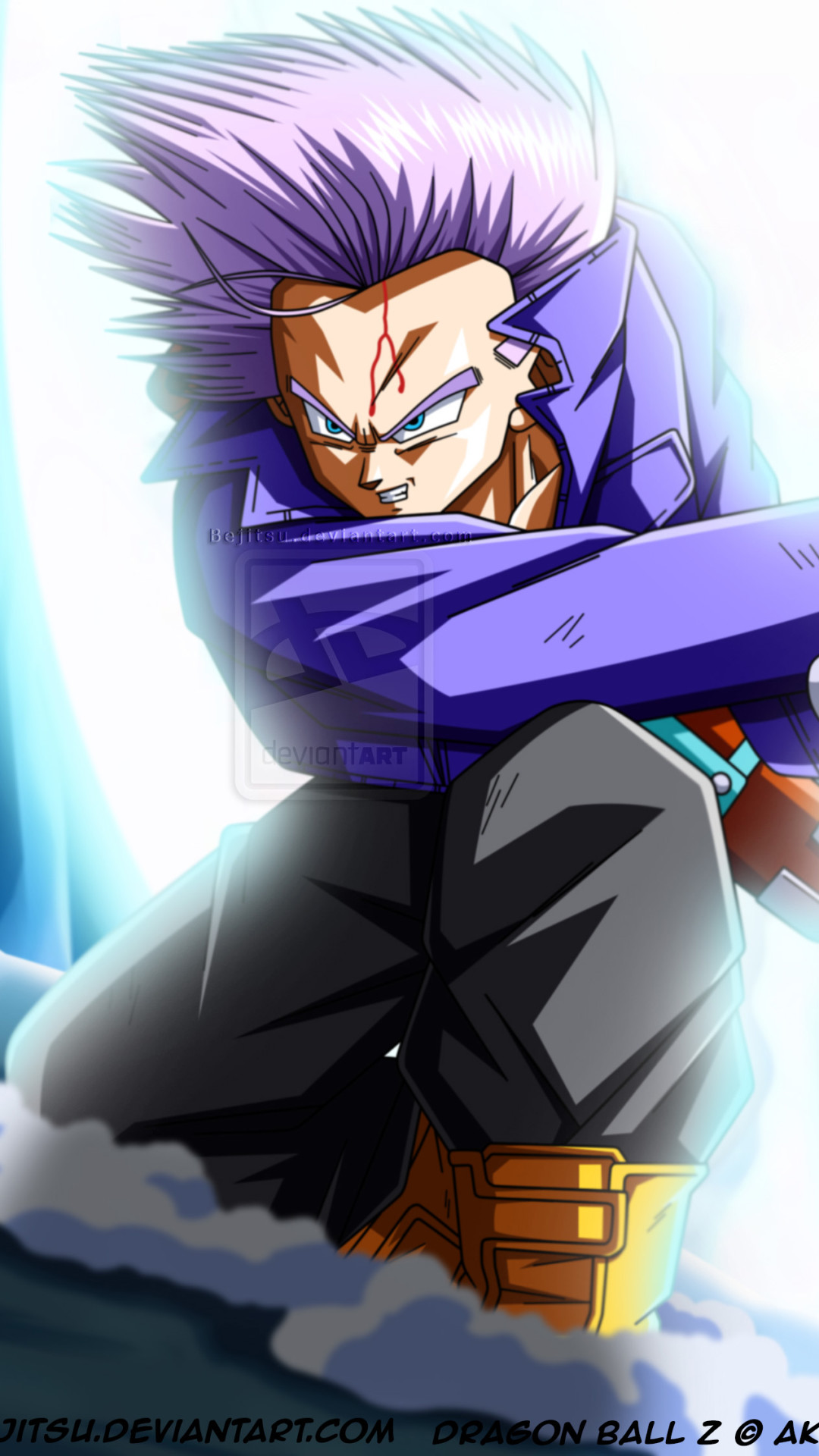 Z Dragon Ball Trunks Dragon Ball Z Trunks 1080x1920 Download Hd Wallpaper Wallpapertip