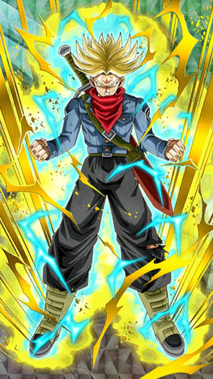 Super Saiyan Trunks Wallpaper Iphone 720x1280 Download Hd Wallpaper Wallpapertip